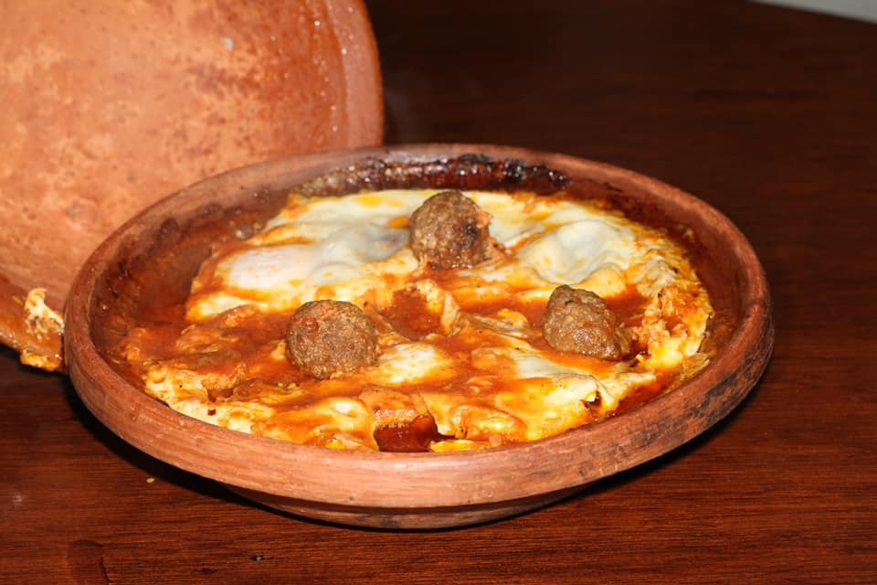 Tajine de Albóndigas Casa Moha comida marroquí punta umbría